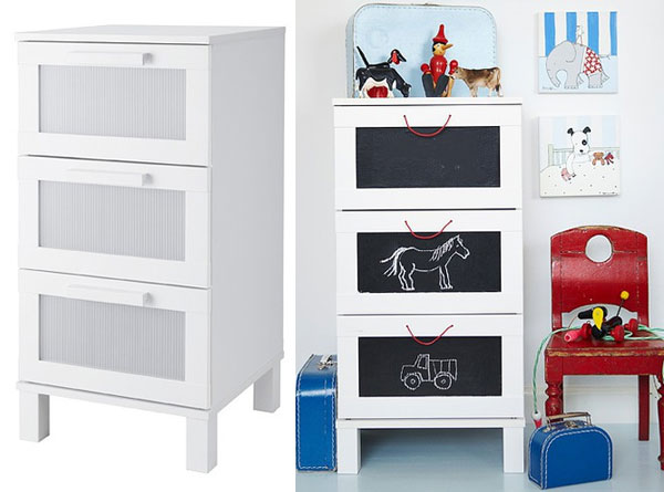 Ideas de decoraci n para habitaciones infantiles ii - Decoracion muebles ikea ...